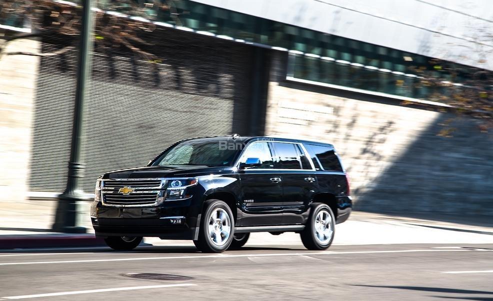 Đánh giá xe Chevrolet Tahoe 2016: Cho cảm giác lái thoải mái