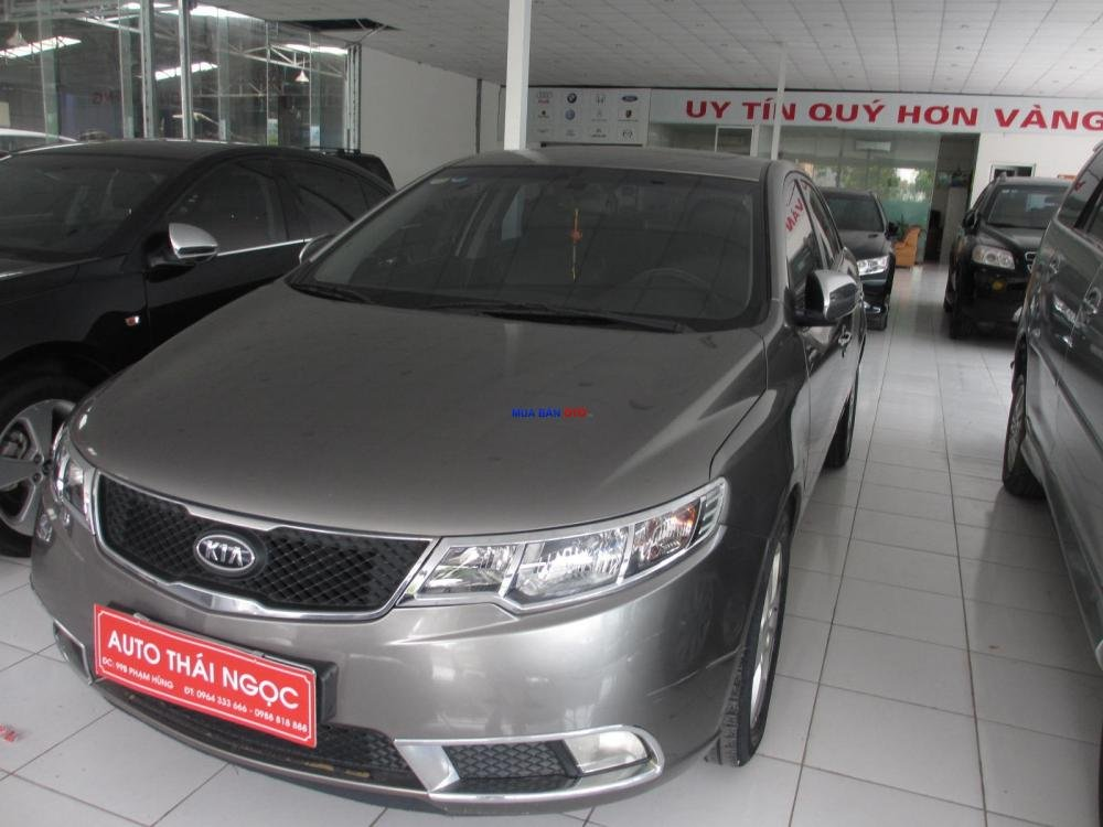 Auto Thái Ngọc bán xe Kia Forte đời 2009, màu đen, giá chỉ 510 triệu-1