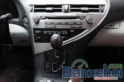 Bán ô tô Lexus RX 350 AT đời 2010, màu bạc-8