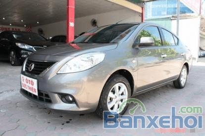 Bán Nissan Sunny 1.5 AT đời 2013, màu xám, chính chủ giá cạnh tranh-0