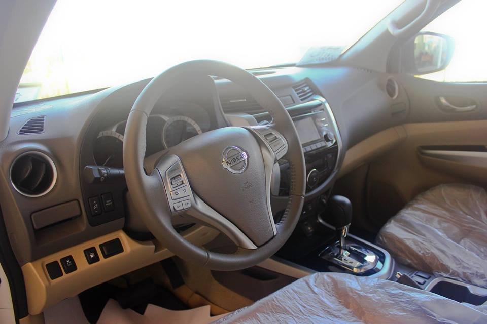 Cần bán xe Nissan Navara VL sản xuất 2015, màu trắng, nhập khẩu-8