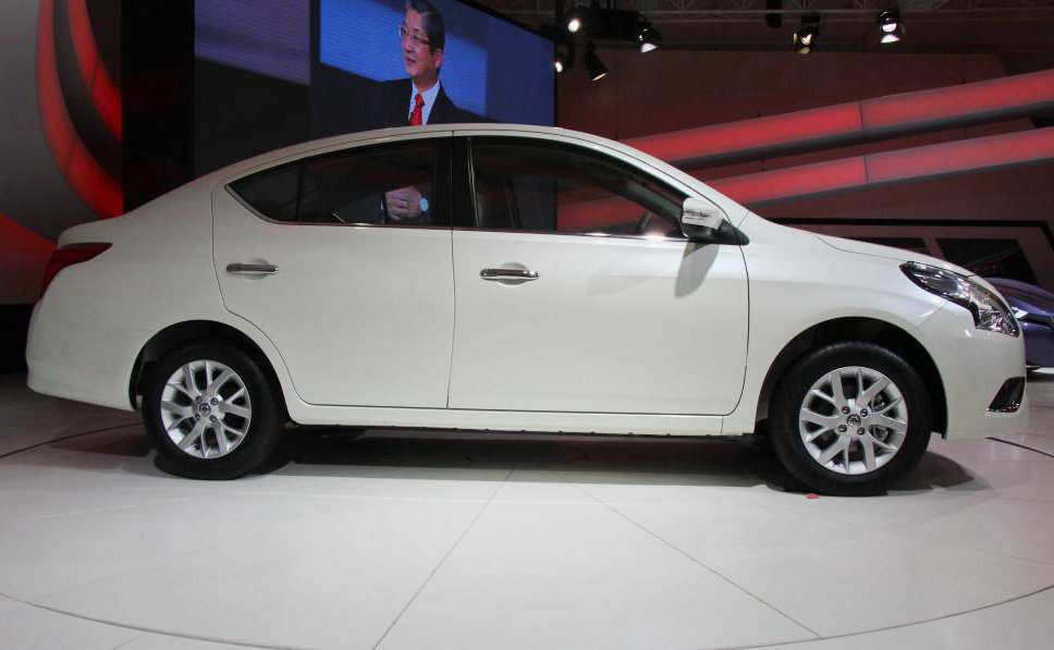 Cần bán xe Nissan Sunny năm 2015, màu trắng-2