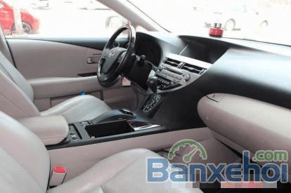 Bán ô tô Lexus RX 350 AT đời 2010, màu bạc-4