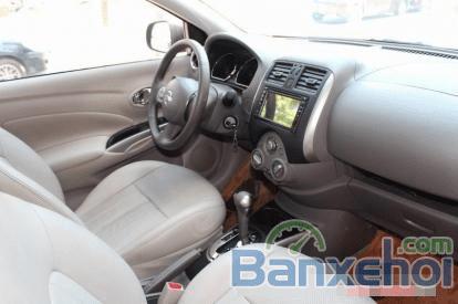 Cần bán lại xe Nissan Sunny 1.5AT đời 2014, màu bạc-4