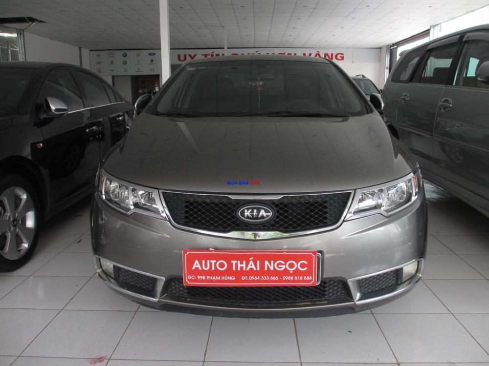 Auto Thái Ngọc bán xe Kia Forte đời 2009, màu đen, giá chỉ 510 triệu-0