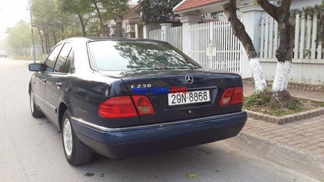 Bán Mercedes E230 1998, màu đen, xe nhập-7