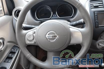 Cần bán lại xe Nissan Sunny 1.5AT đời 2014, màu bạc-8