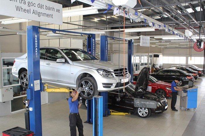 Mercedes-Benz hiện đã xây dựng đầy đủ các cơ sở trên khắp Việt Nam.