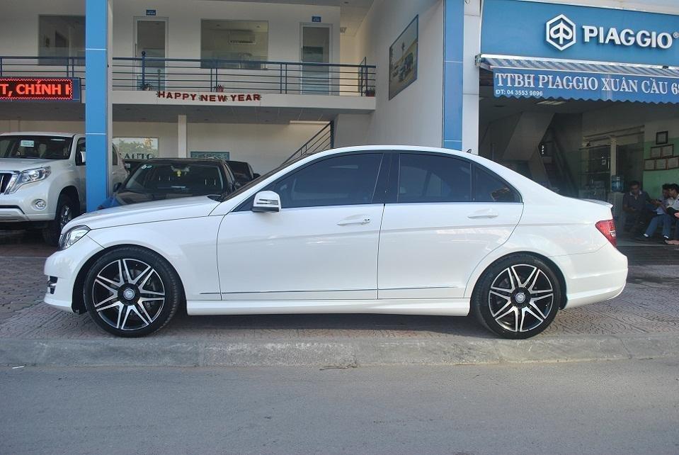 Showroom Hưng Phát Auto cần bán lại xe Mercedes đời 2014, màu trắng, xe nhập-2