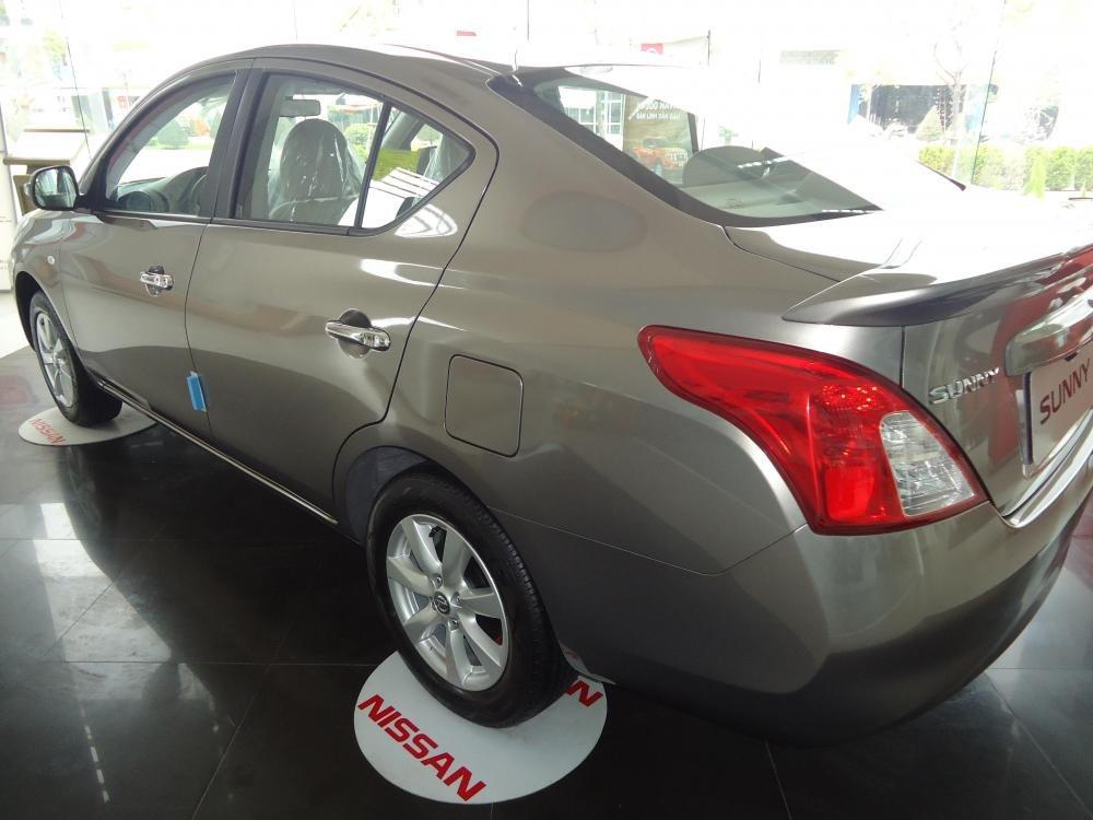Bán ô tô Nissan Sunny 2015, màu nâu-3