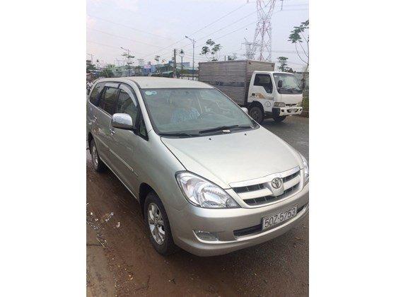Bán Toyota Innova G đời 2007, màu bạc, nhập khẩu chính hãng, xe gia đình  -1