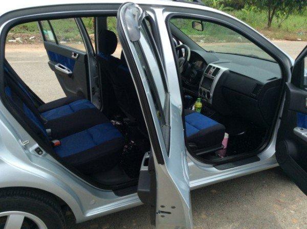 Hyundai Getz 1.6 số tự động nhập 2008, màu xanh - 299 triệu-4