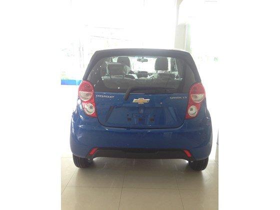 Bán ô tô Chevrolet Spark đời 2015, màu xanh lam, nhập khẩu-1