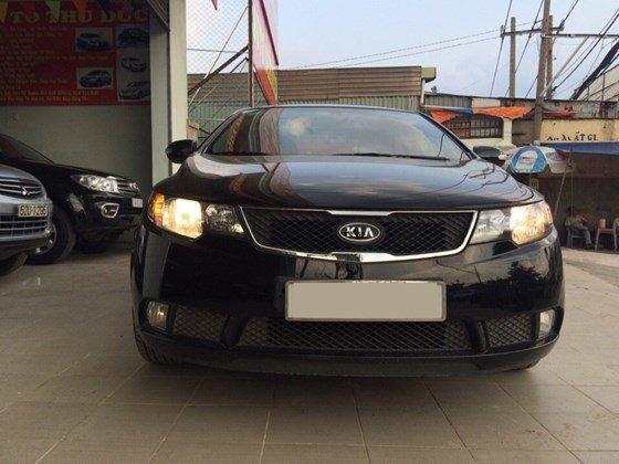 Cần bán lại xe Kia Forte 2010, màu đen, nhập khẩu Hàn Quốc, còn mới, giá 505tr-0
