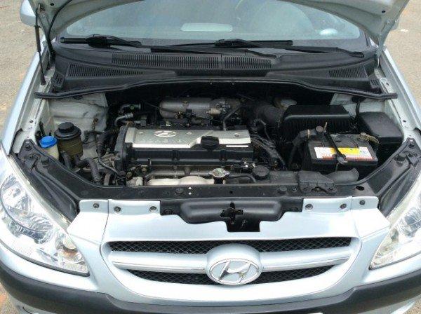 Hyundai Getz 1.6 số tự động nhập 2008, màu xanh - 299 triệu-5