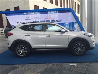 Cần bán gấp Hyundai Tucson đời 2015, màu trắng, xe nhập-3