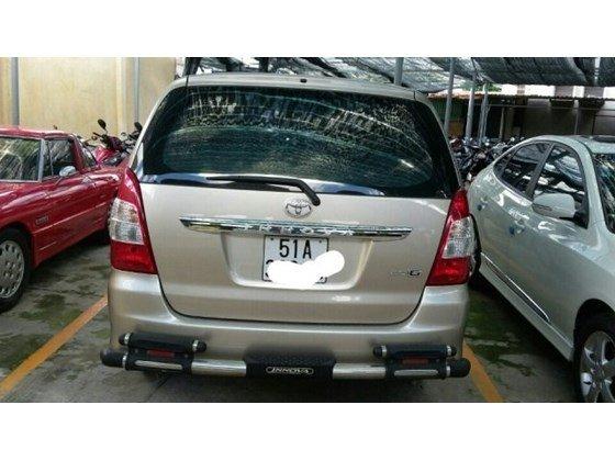 Cần bán Toyota Innova G AT đời 2012, màu vàng, nhập khẩu chính hãng, đẹp như mới-4
