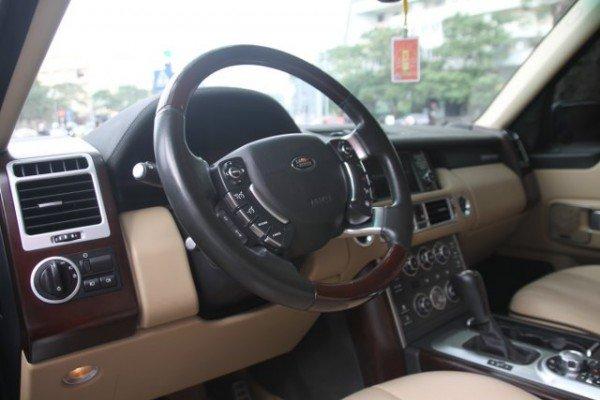 Cần bán gấp LandRover Range rover Supercharged năm 2009, màu đen, nhập khẩu, số tự động-4