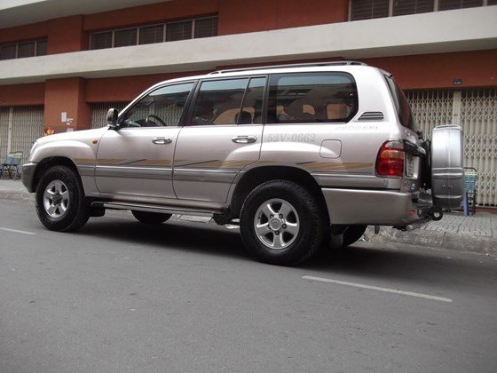 Cần bán Toyota - Land Cruiser GX vip SX 2000, màu hồng phấn-0