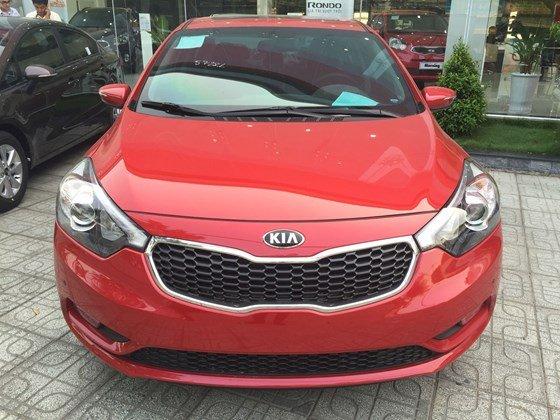 Bán xe Kia K3 1.6AT đời 2015, màu đỏ, xe nhập-0