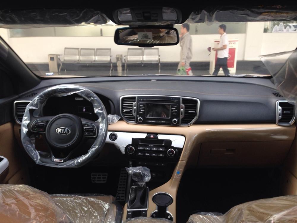 Bán xe Kia Sportage đời 2015, màu nâu, nhập khẩu Hàn Quốc -4