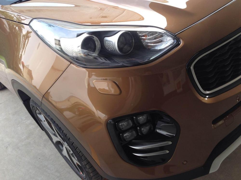 Bán xe Kia Sportage đời 2015, màu nâu, nhập khẩu Hàn Quốc -2