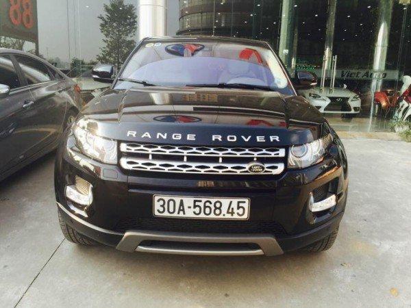 Cần bán gấp LandRover Range rover Evoque đời 2013, màu đen, xe nhập, như mới-0