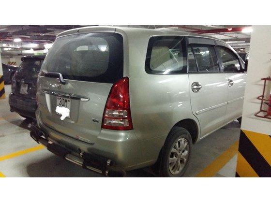 Cần bán Toyota Innova G đời 2008, màu bạc, nhập khẩu nguyên chiếc, chính chủ-0