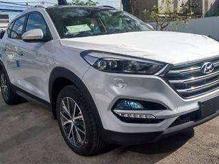Cần bán gấp Hyundai Tucson đời 2015, màu trắng, xe nhập-1