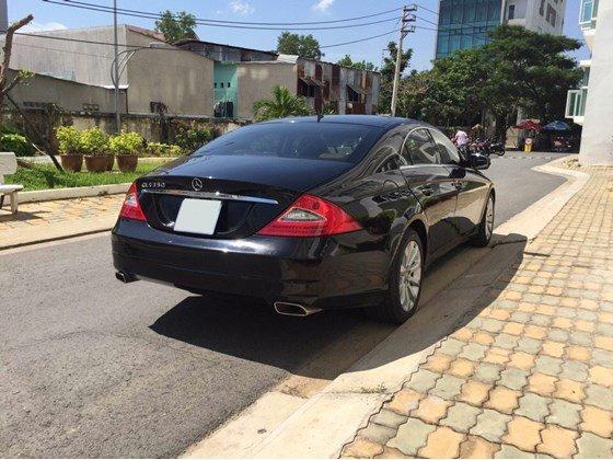 Xe Mercedes CLS 350 đời 2008, màu đen, nhập khẩu chính hãng-3
