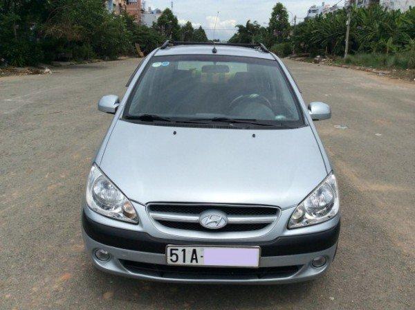 Hyundai Getz 1.6 số tự động nhập 2008, màu xanh - 299 triệu-0