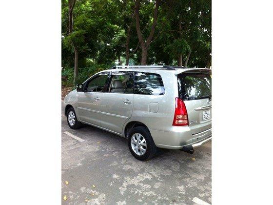 Bán Toyota Innova G đời 2007, màu bạc, nhập khẩu chính hãng, xe gia đình  -0