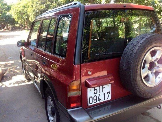 Bán Suzuki Vitara 1.6 màu đỏ chính chủ giá rẻ -6