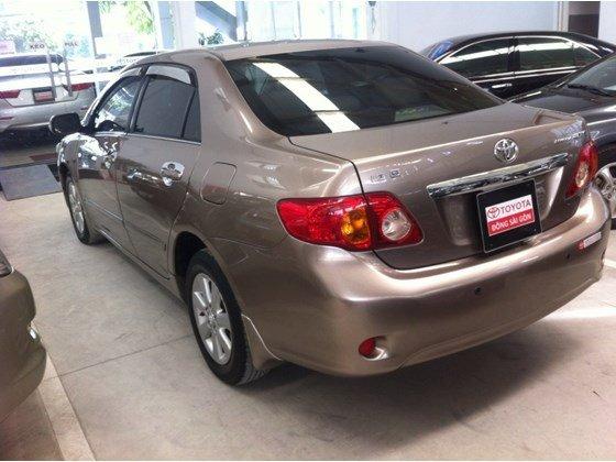 Bán xe Toyota Corolla Altis 1.8 đời 2009, màu nâu, nhập khẩu chính hãng, số tự động-0