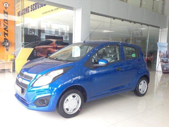 Bán ô tô Chevrolet Spark đời 2015, màu xanh lam, nhập khẩu-8