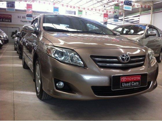 Bán xe Toyota Corolla Altis 1.8 đời 2009, màu nâu, nhập khẩu chính hãng, số tự động-1