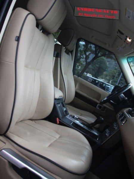 Cần bán gấp LandRover Range rover Supercharged năm 2009, màu đen, nhập khẩu, số tự động-7