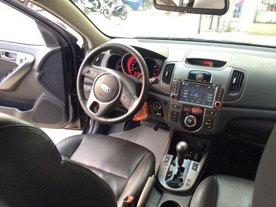 Cần bán lại xe Kia Forte 2010, màu đen, nhập khẩu Hàn Quốc, còn mới, giá 505tr-2