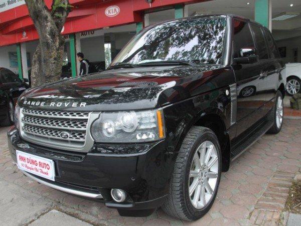 Cần bán gấp LandRover Range rover Supercharged năm 2009, màu đen, nhập khẩu, số tự động-1