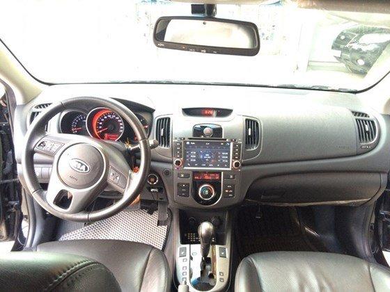 Cần bán lại xe Kia Forte 2010, màu đen, nhập khẩu Hàn Quốc, còn mới, giá 505tr-4