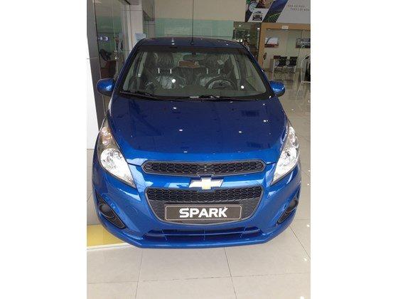 Bán ô tô Chevrolet Spark đời 2015, màu xanh lam, nhập khẩu-0