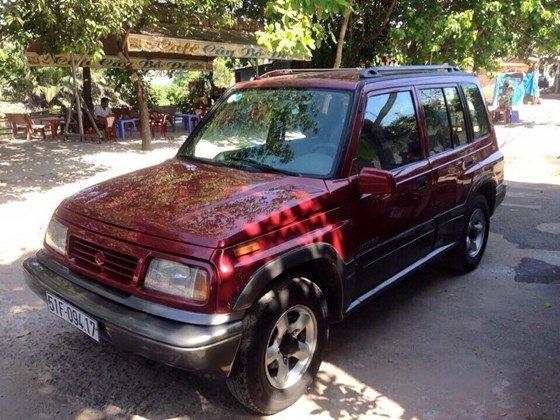 Bán Suzuki Vitara 1.6 màu đỏ chính chủ giá rẻ -10
