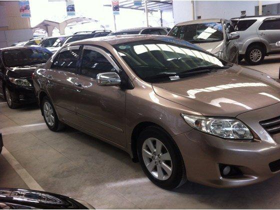 Bán xe Toyota Corolla Altis 1.8 đời 2009, màu nâu, nhập khẩu chính hãng, số tự động-4