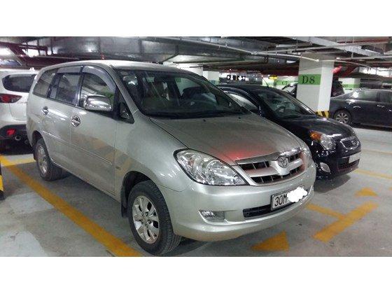 Cần bán Toyota Innova G đời 2008, màu bạc, nhập khẩu nguyên chiếc, chính chủ-1