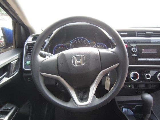 Bán Honda City AT đời 2015, màu xanh lam, xe nhập, còn mới-12