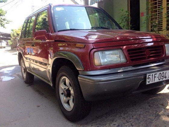 Bán Suzuki Vitara 1.6 màu đỏ chính chủ giá rẻ -5
