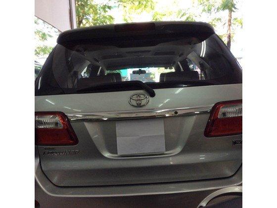 Cần bán lại xe Toyota Fortuner đời 2010, màu bạc, nhập khẩu chính hãng, số sàn-1