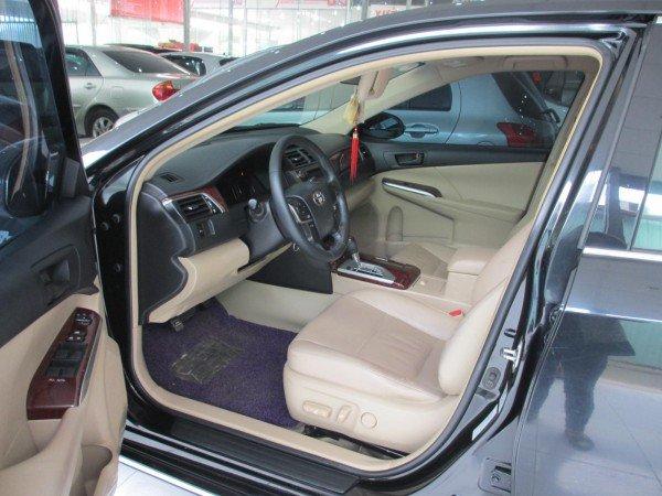 Bán Toyota Camry 2.5G sản xuất 2012, màu đen, chính chủ-5