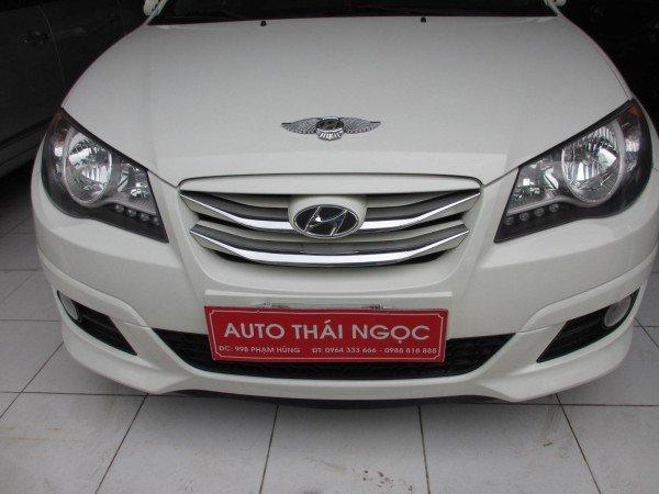 Hyundai Avante 1.6AT, mầu trắng, đời 2012 - 528 triệu-1