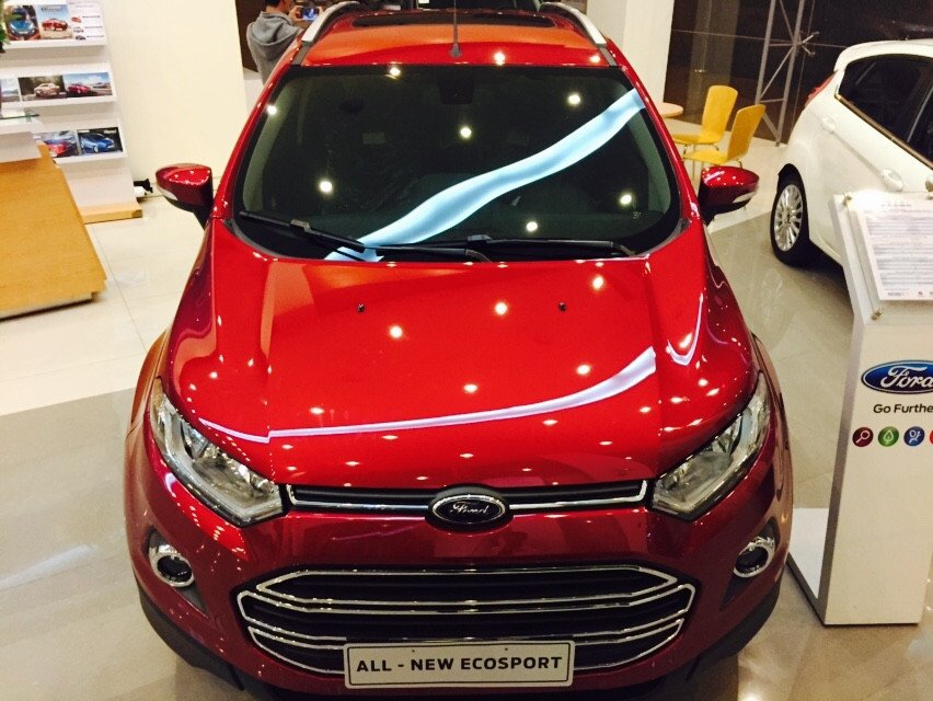 Bán Ford EcoSport đời 2015, nhập khẩu chính hãng, giá chỉ 645 triệu-1